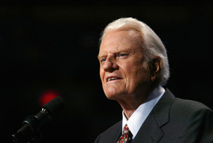 Billy Graham changed my career & life. Thank you Rev. Graham. Thank you God.