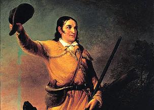 Davy Crockett—Mississippi Horse Trader