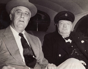 FDR and Churchill hated Hitler more than they liked each other.