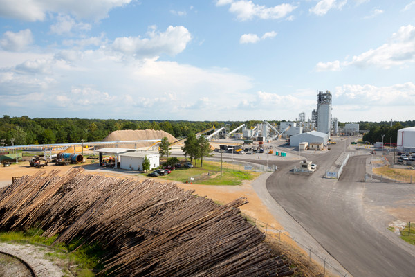 NO MORE: KiOR's biofuels plant in Columbus closed after only two years. Photo by KiOR