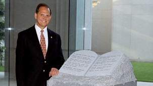 My 2003 interview with Alabama's future U.S. Senator Roy Moore made me wonder: Were his sights s