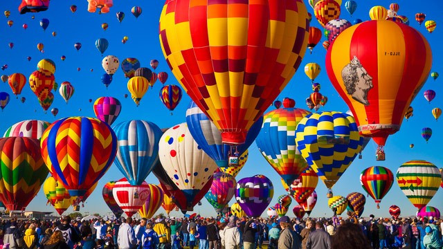 5 Must-See Magnificent Balloon Festivals by Jenny Cox Holman, Jenny Cox Holman writer