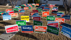 Some Miss. towns likely have illegal campaign sign laws