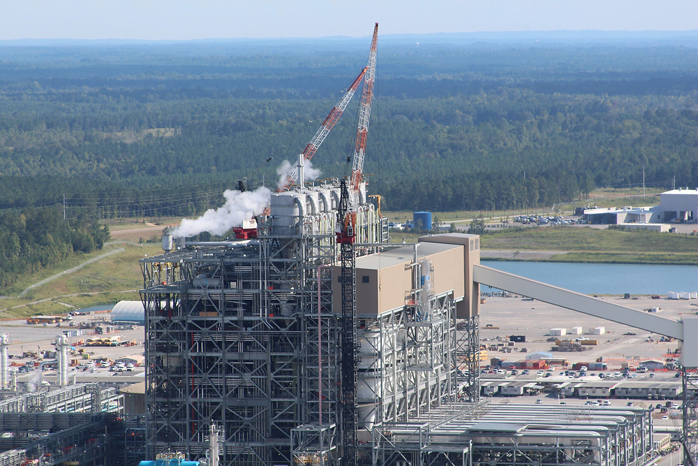 NO GASIFIER: The Southern Company will write off $6.5 billion in costs on the gasifiers that convert lignite coal into synthesis gas for the Kemper Project. Photo by Mississippi Power