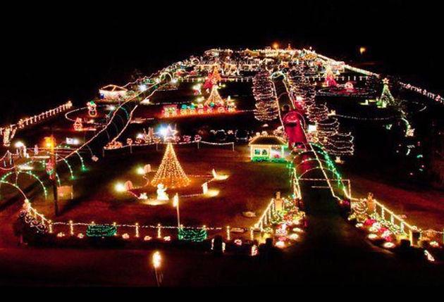 Drive Thru Christmas Lights.The South S Sensational Christmas Lights Displays