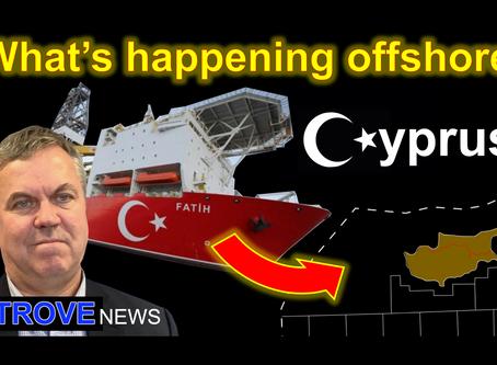 Gas in the Eastern Mediterranean fuelling the Cyprus dispute.
