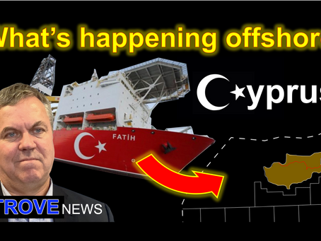 Gas in the Eastern Mediterranean fuelling the Cyprus dispute.