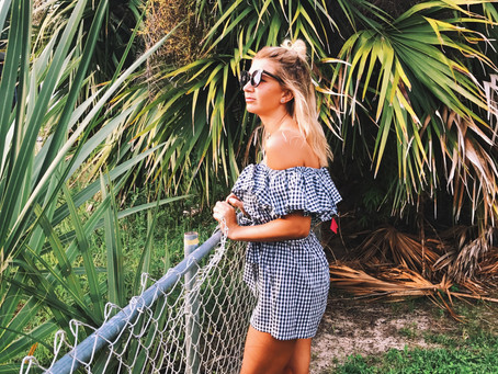 Fall into fall in Gingham