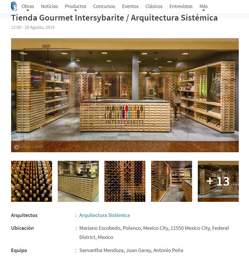 Tienda Gourmet Intersybarite