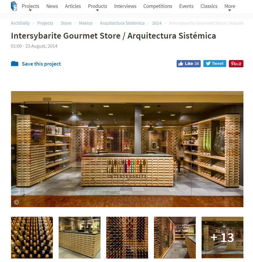 Intersybarite Gourmet Store