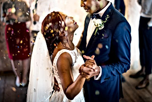 newlywed-african-descent-couple-dancing-
