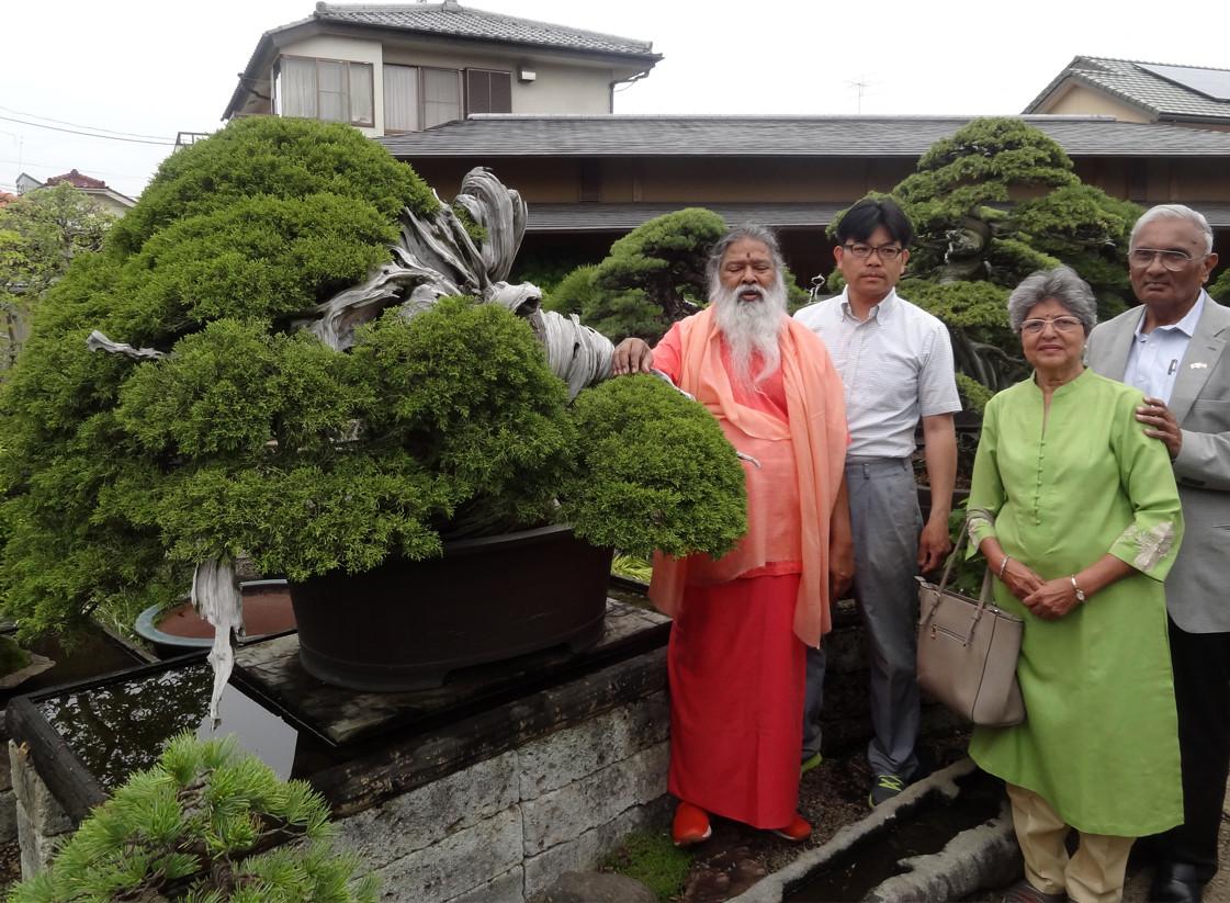With Swamiji in Japan, 2018