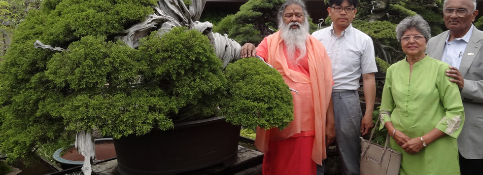 With Swamiji in Japan, 2018