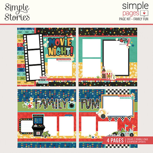 Simple Stories Simple Page Kit - Family Fun