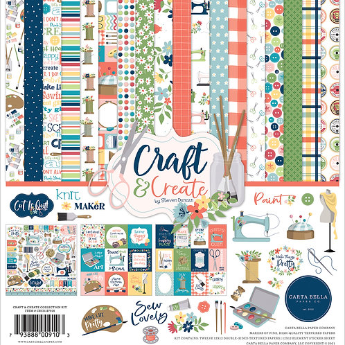 Carta Bella Craft and Create 12x12 Collection Kit