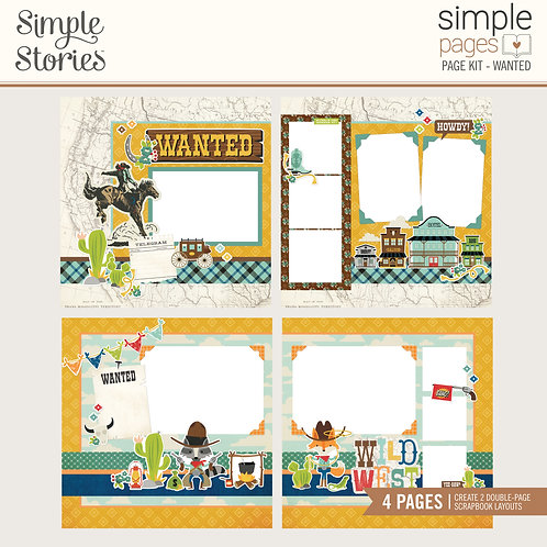 Simple Stories Simple Page Kit - Wanted