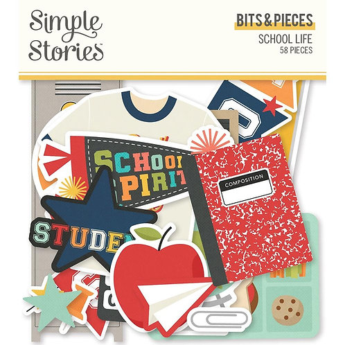 Simple Stories School Life Bits and Pieces