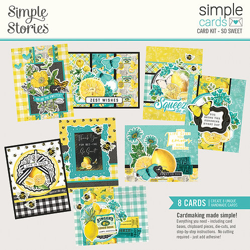 Simple Cards Card Kit - So Sweet