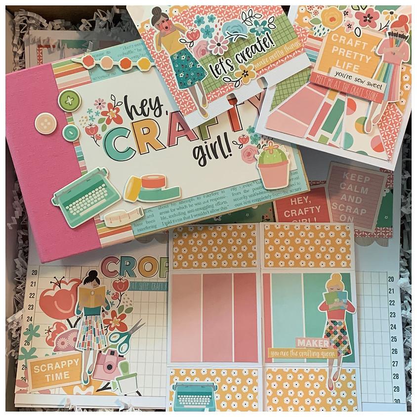 Crafty Girl: Crop in a Box