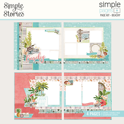 Simple Pages Page Kit - Beachy