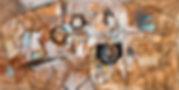 URBAN CAVE #2 - FORCE FIT - Mixed Media;