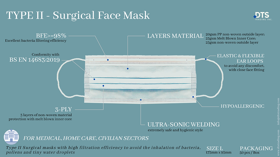 TYPE II - Surgical Face Mask.png