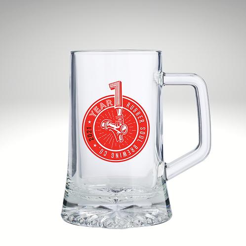 Year 1 Anniversary 16oz. Beer Stein