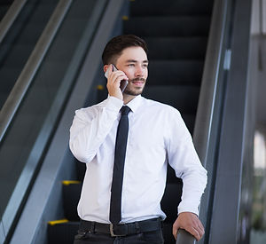 Canva - Pensive Man with Phone Moving do