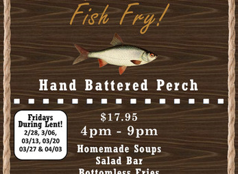 DCC's All You Can Eat Fish Fry is Back!