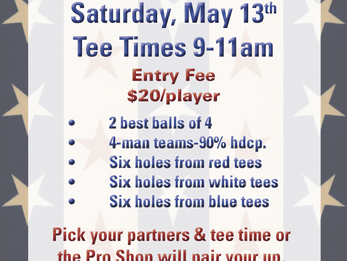 Fun Tournaments this Weekend at the DCC