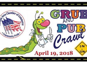 Grub & Pub Crawl 2018