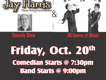 Comedian & Newsmaker 2.0 This Friday!