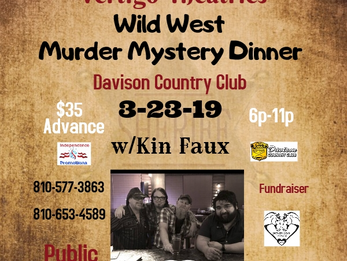 Wild West Mystery Dinner at DCC