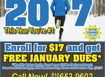 Start 2017 by joining this week for $17 & receive January FREE*!