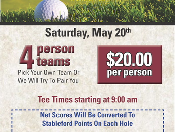 Men's Stableford Tourney this Weekend