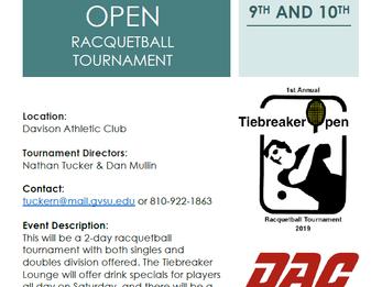DAC's Fall Racquetball Tournament