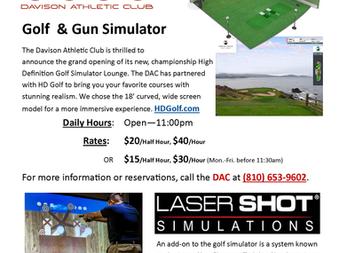DAC's Golf & Gun Simulator