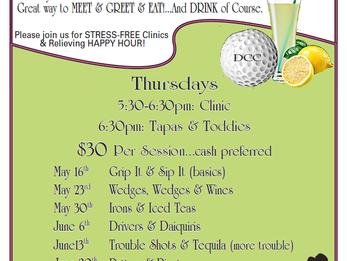 DCC Ladies Golfing Clinic