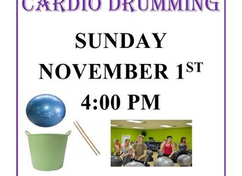 Cardio Drumming Coming to DAC!