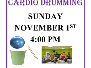 Cardio Drumming Coming to DAC!