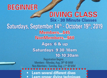 NEW Diving Class coming to DAC!