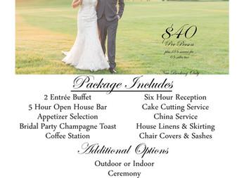 DCC's 2020 Wedding Specials