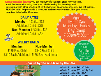 Summer Day Camp 2016 Sign Up!