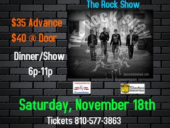 80's Rock/Dinner Show