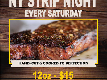 New York Strip Saturday Special