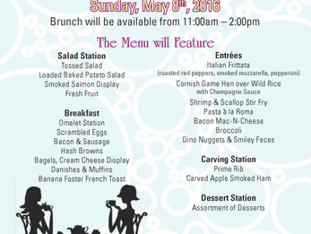 Kentucky Derby & Mother's Day Brunch This Weekend!