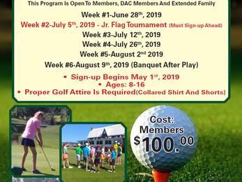 DCC's Junior Golf Program
