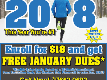 FREE January Dues for New Members!