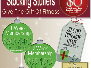 Stocking Stuffer Specials