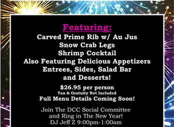 Spend New Years Eve at DCC!